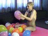 Amateurvideo Ballonfetisch von AmandaErotixx