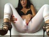 Amateurvideo Mega Wahnsinns  White Leggings  Piss !!! Absolut Durchnässt von sunshine15
