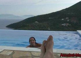 Annabel Massina   Frei Fick fuer Hotelgast