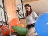Amateurvideo ich bin das Ballony Girl 2 von TittenCindy