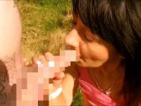 Amateurvideo Nippel-Queen im Wald von wondergirl