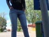 Amateurvideo Verbotener Public Piss!! von Vampira25