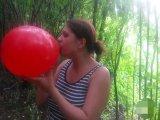 Amateurvideo Looner Fetisch - Ballon aufblasen von CaraliaDeluxe
